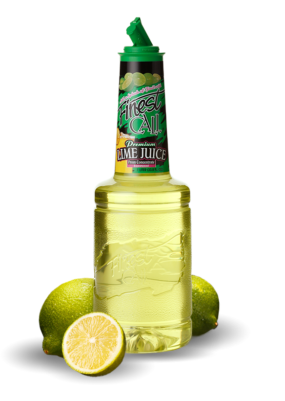 A lime juice mix for your mixed drinks that require lime.